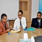 Agreement signing Ceremony between Apollo Hospital & Sentry Security Services Ltd.