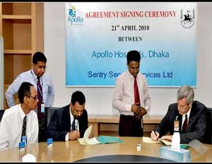 Agreement signing Ceremony between Apollo Hospital & Sentry Security Services Ltd.2