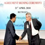 Agreement signing Ceremony between Apollo Hospital & Sentry Security Services Ltd.5
