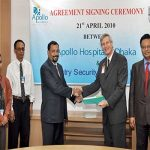 Agreement signing Ceremony between Apollo Hospital & Sentry Security Services Ltd.6