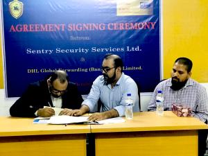 Agreement Signing ceremony between SSSL & DHL (1)