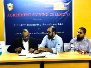 Agreement Signing ceremony between SSSL & DHL (2)
