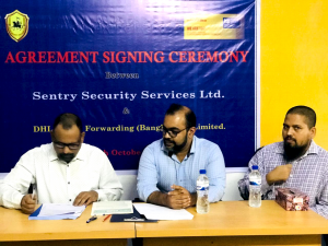 Agreement Signing ceremony between SSSL & DHL