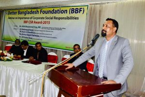 Speech of Md. Hasanul Islam, MD, SSSL at BBF CSR Award 2015